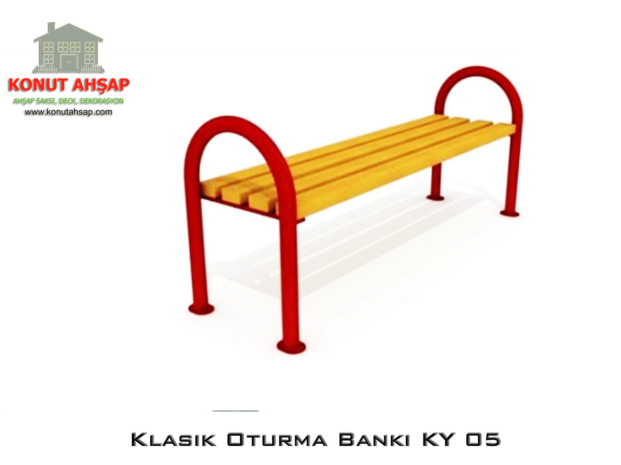 Klasik Oturma Bankı KY 05