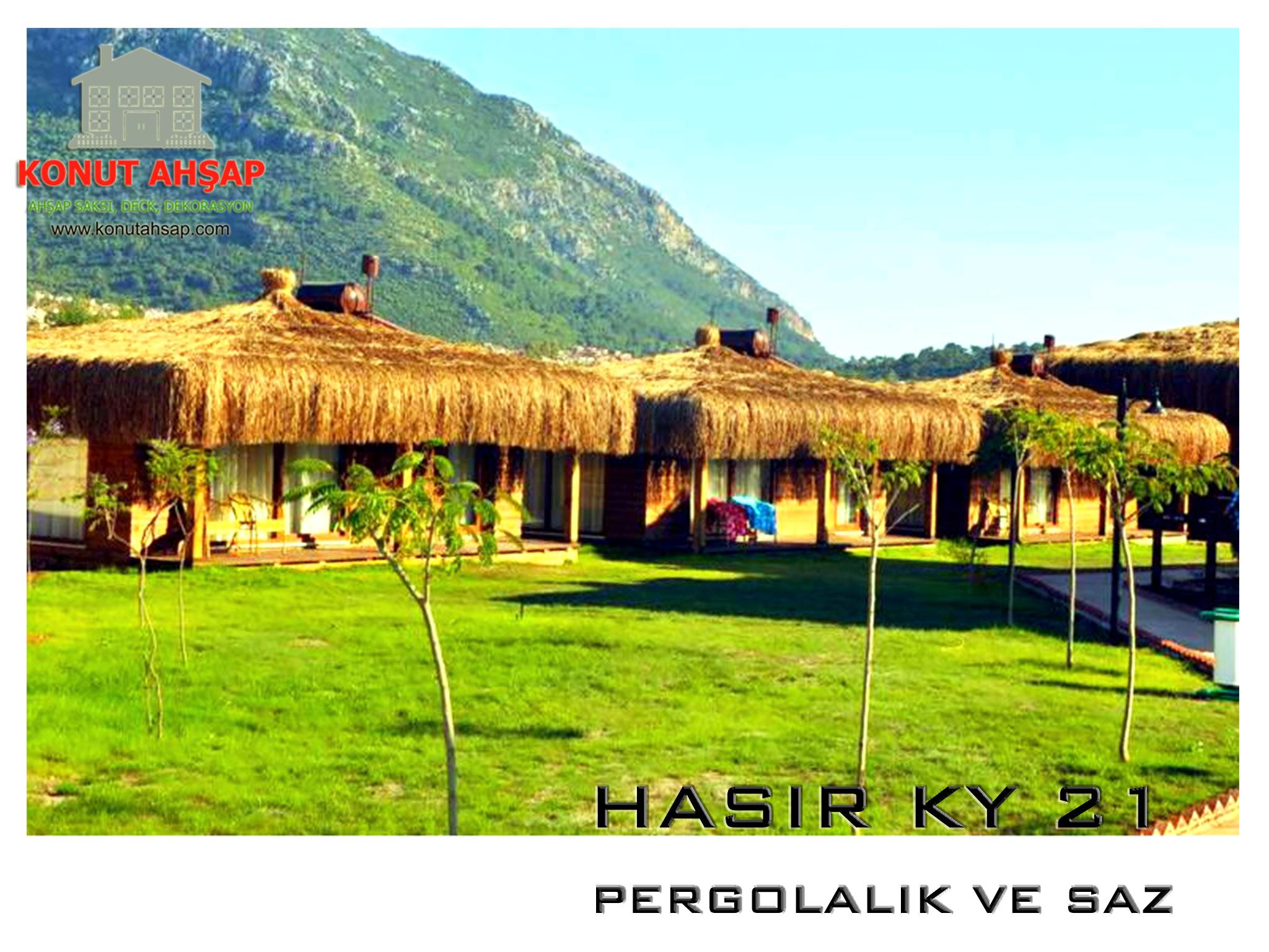 METAL PERGOLA HASIRLI KY 21