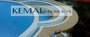 Deck Yer Döşemesi - Havuz Kenarı Deck