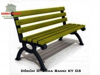 Döküm Oturma Bankı KY 03