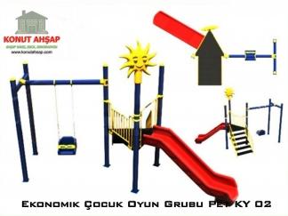 Ekonomik Çocuk Oyun Grubu Pet KY 02