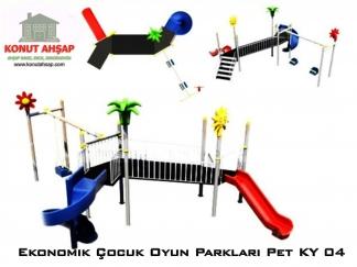 Ekonomik Çocuk Oyun Parkları Pet KY 04