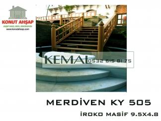 Ahşap Merdiven KY 505
