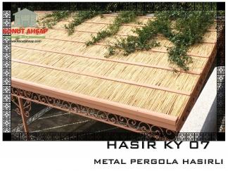 METAL PERGOLA HASIRLI KY 07