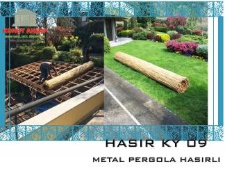 METAL PERGOLA HASIRLI KY 09
