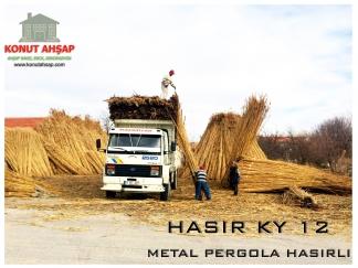 METAL PERGOLA HASIRLI KY 12