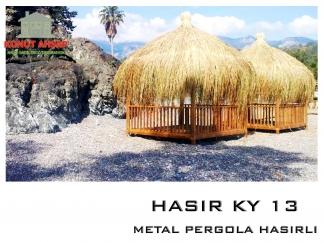 METAL PERGOLA HASIRLI KY 13