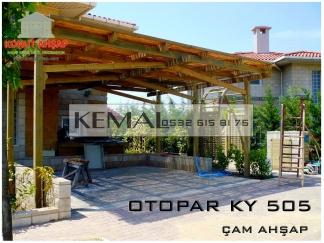 Ahşap Otopark KY 05