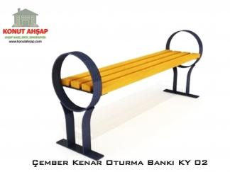 Çember Kenar Oturma Bankı KY 02