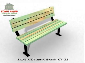 Klasik Oturma Bankı KY 03