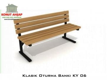 Klasik Oturma Bankı KY 06
