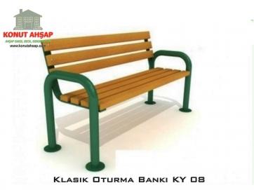 Klasik Oturma Bankı KY 08