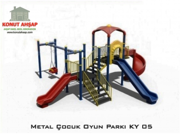 Metal Çocuk Oyun Parkı KY 05
