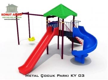 Metal Çocuk Parkı KY 03