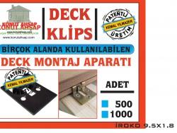 Deck Montaj Klips