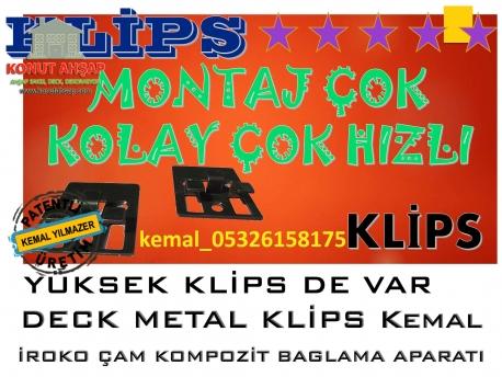 Metal Klips Kolay