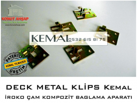 Montaj Metal Klips