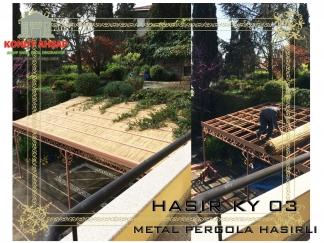 METAL PERGOLA HASIRLI KY 03