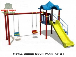 Metal Çocuk Oyun Parkı KY 01