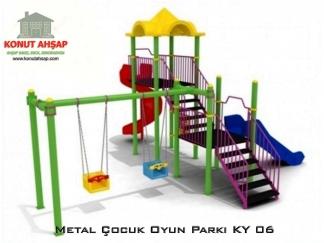 Metal Çocuk Oyun Parkı KY 06