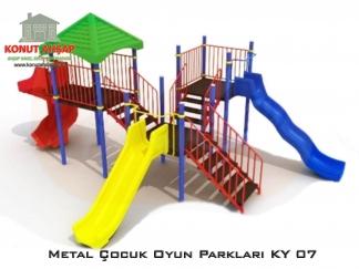Metal Çocuk Oyun Parkları KY 07