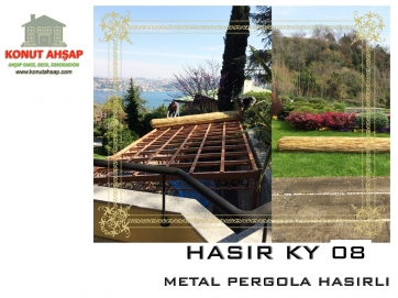 METAL PERGOLA HASIRLI KY 08