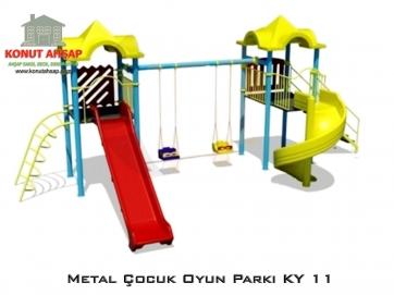 Metal Çocuk Oyun Parkı KY 11