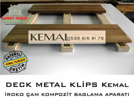 Deck Metal Baglantı Klipsleri