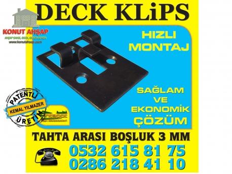 Deck Metal Klips Montaj