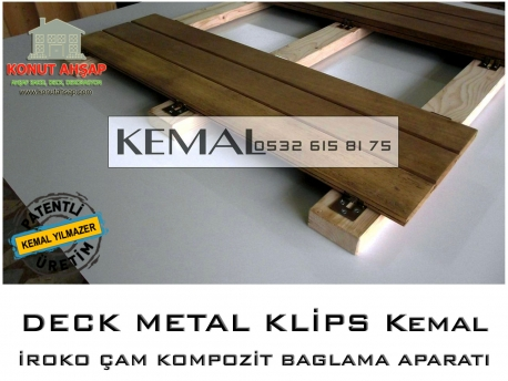 Deck Metal Montaj Klipsleri